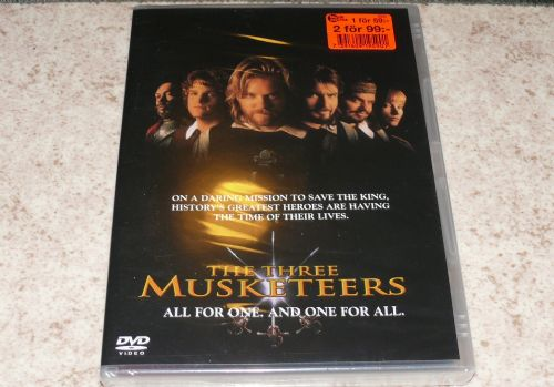 DVD The three musketeers