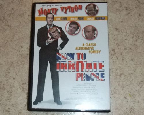 DVD Monty Python how to irritate people